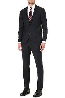 TIGER OF SWEDEN Cal wool-blend tartan suit