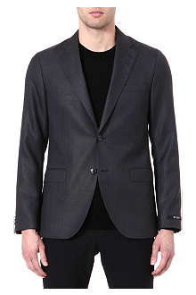 TIGER OF SWEDEN Morello wool and mohair-blend blazer