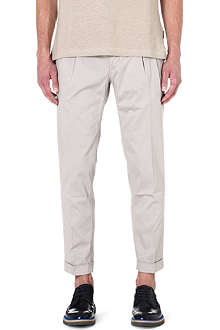 TIGER OF SWEDEN Stretch-cotton slim-fit trousers