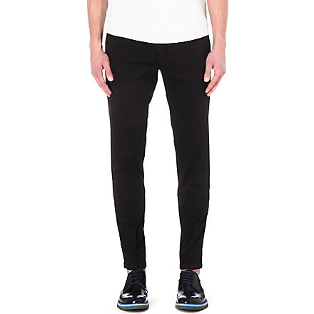 TIGER OF SWEDEN Staller stretch-cotton trousers (Black