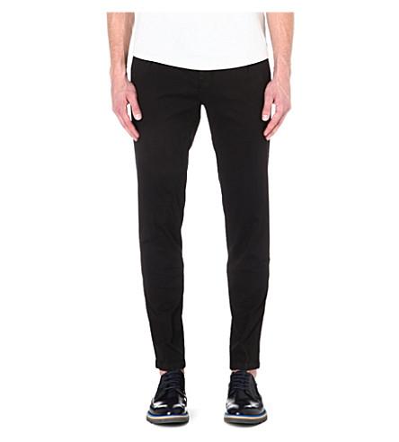 TIGER OF SWEDEN Staller stretch-cotton trousers (Black