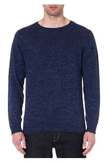 TIGER OF SWEDEN Hayward linen-blend jumper