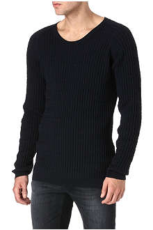 TIGER OF SWEDEN Alanzo cable-knit jumper
