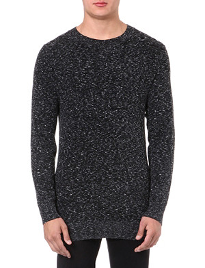 TIGER OF SWEDEN Aram fleck crew-neck jumper