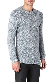 TIGER OF SWEDEN Bredon melange-knit jumper
