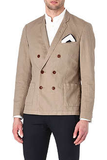 TIGER OF SWEDEN Brook cotton blazer
