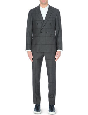 TIGER OF SWEDEN Wool square suit