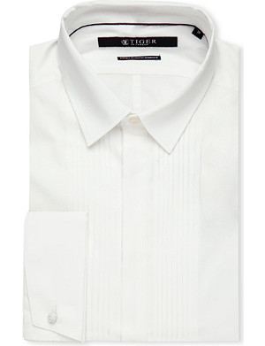 TIGER OF SWEDEN Denzel slim-fit cotton shirt