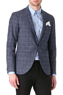 TIGER OF SWEDEN Evert checked blazer