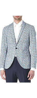 TIGER OF SWEDEN Evert printed blazer