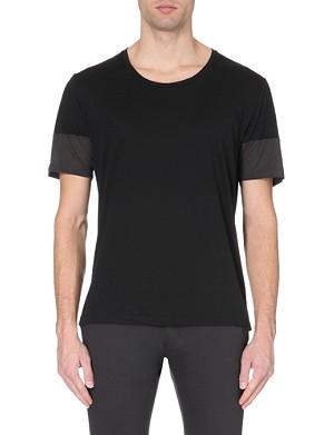 TIGER OF SWEDEN Fait scoop-neck colourblock t-shirt