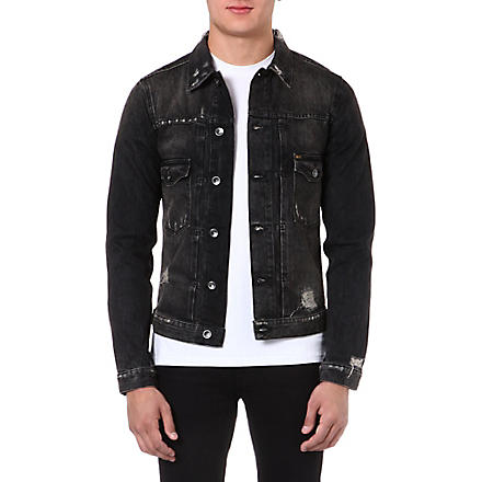 TIGER OF SWEDEN JEANS Gecko denim jacket (Black