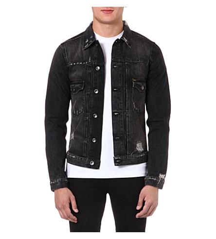 TIGER OF SWEDEN JEANS Gecko denim jacket (Black