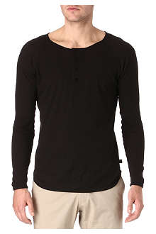 TIGER OF SWEDEN Guz Henley top