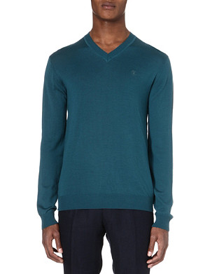 TIGER OF SWEDEN Harvard wool jumper