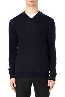 TIGER OF SWEDEN Harvard merino wool jumper
