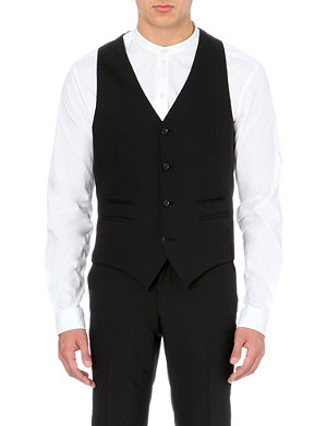 TIGER OF SWEDEN Jeds stretch-wool waistcoat