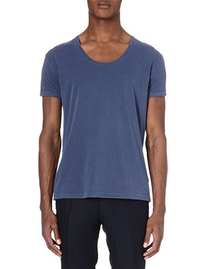 TIGER OF SWEDEN Jeet scoop neck t-shirt