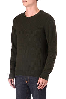 TIGER OF SWEDEN Laurence cable knit jumper