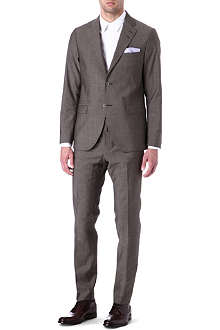 TIGER OF SWEDEN Morello pindot slim-fit suit