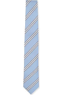 TIGER OF SWEDEN Ortona double-stripe tie