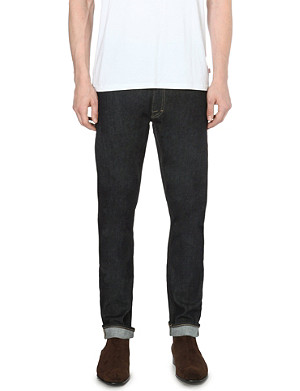 TIGER OF SWEDEN JEANS Pistolero tapered mid-rise jeans