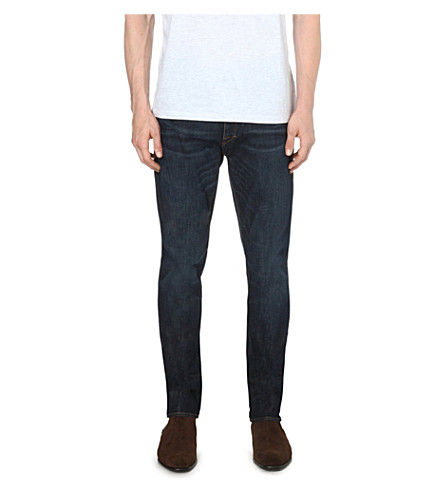 TIGER OF SWEDEN JEANS Pistolero tapered mid-rise jeans (Indigo