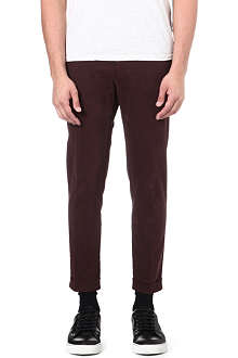 TIGER OF SWEDEN Rollins cropped chino