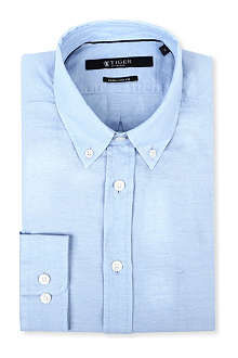 TIGER OF SWEDEN Samson button-down denim shirt