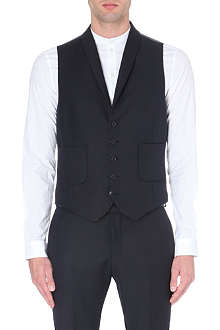 TIGER OF SWEDEN Hanes wool-blend waistcoat