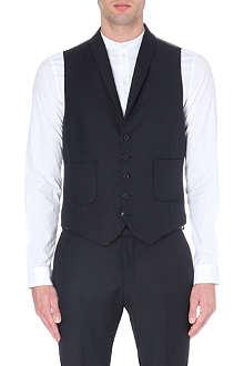 TIGER OF SWEDEN Hanes wool-blend waistcoat
