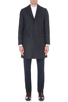 TIGER OF SWEDEN Dempsey wool-blend overcoat