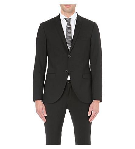 TIGER OF SWEDEN Evert single-breasted suit jacket (Black