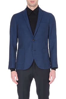 TIGER OF SWEDEN Hoyt single-breasted wool-blend blazer