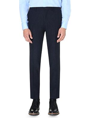 TIGER OF SWEDEN Herris flecked wool trousers