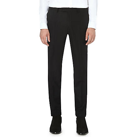 TIGER OF SWEDEN Kieran slim-fit tapered trousers (Black