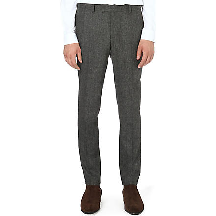 TIGER OF SWEDEN Kieran slim-fit tapered trousers (Grey