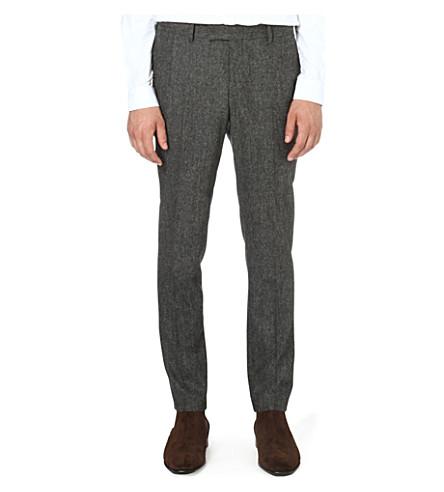 TIGER OF SWEDEN Kieran slim-fit tapered trousers (Grey
