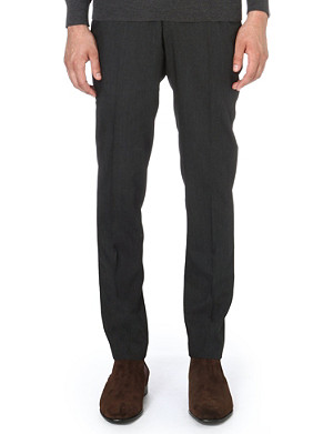 TIGER OF SWEDEN Herris flat-front regular-fit trousers