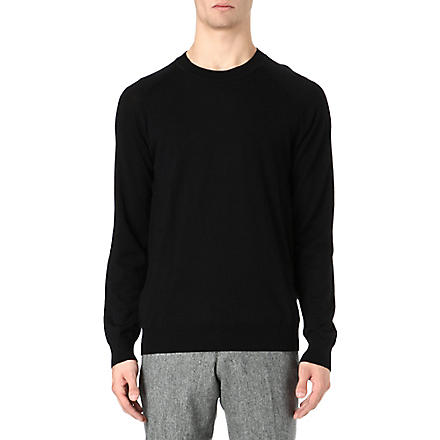 TIGER OF SWEDEN Terry knitted jumper (Black