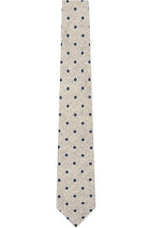 TIGER OF SWEDEN JEANS Polkadot wool tie