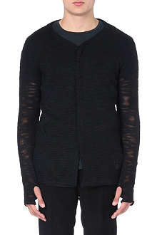 TIGER OF SWEDEN JEANS Sheer knitted cardigan