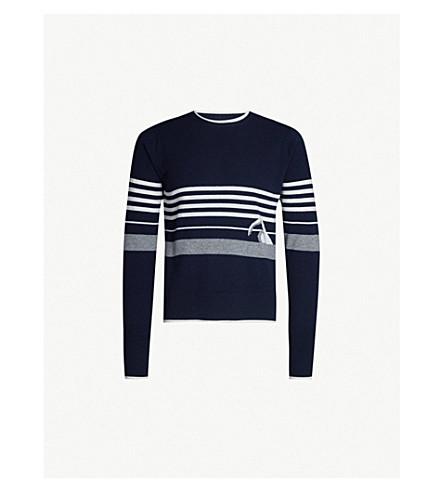 df35616239 THOM BROWNE - Patterned cashmere jumper | Selfridges.com