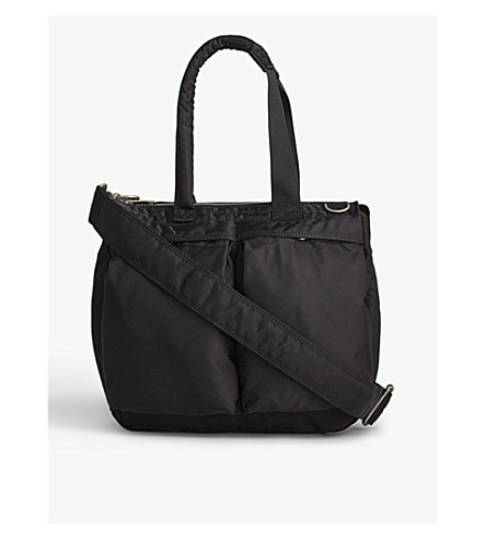 SACAI 1685 large tote (Black