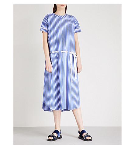 SACAI Striped cotton dress (Stripe