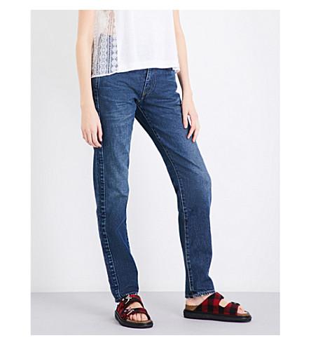 SACAI Sacai x Levi's straight high-rise jeans (Washed+denim