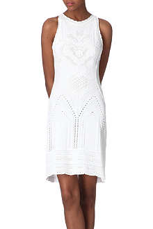 ROBERTO CAVALLI Knitted pointelle dress