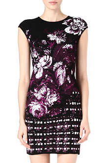 ROBERTO CAVALLI Floral knitted dress