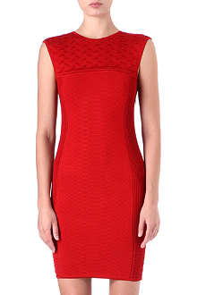 ROBERTO CAVALLI Python knitted jacquard dress