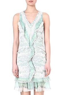 ROBERTO CAVALLI Silk patterned dress